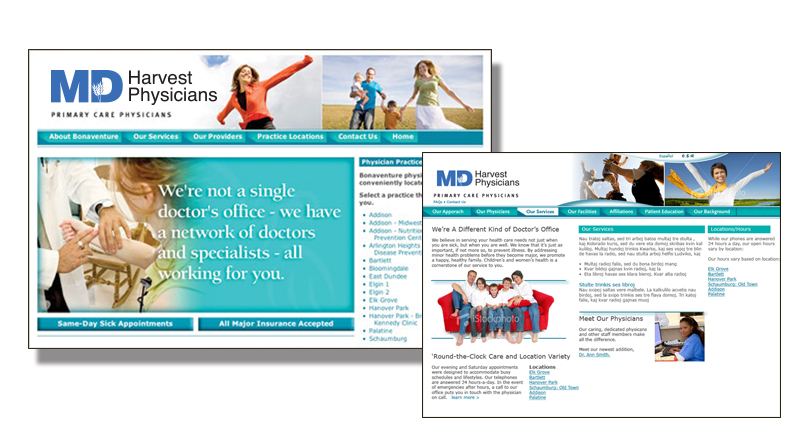 Physicians Practice Website Design and Branding
