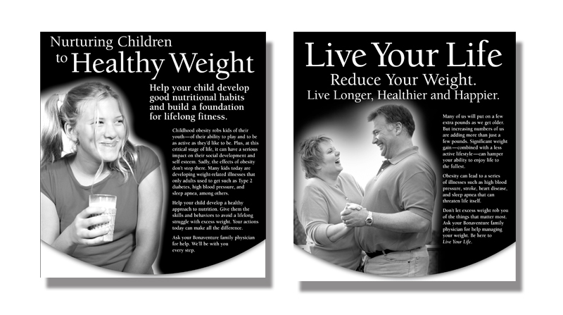 Medical Weight Loss Print Campaign