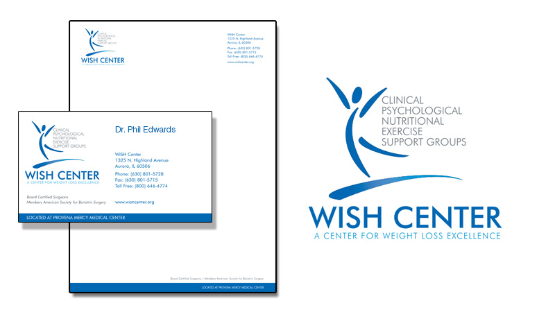 Wish Center Bariatric Corporate Identity